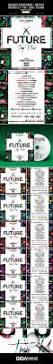 future trap music mixtape album cover template by giga template