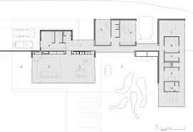 apartments modern single story house plans contemporary open