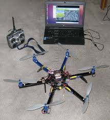 build your own computer stabilized flying uav rpv drone platform