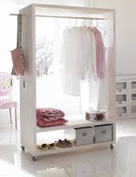 Bedroom Clothes Horse Wooden Clothing Rack 3fold Clothes Horse Folding Garment In White