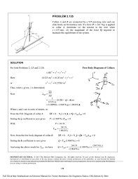 solution manual for vector mechanics for engineers statics 10th