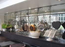 excellent modern kitchen ware ideas hang on mirror backsplash