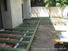 Backyard Wood Deck Custom Ironwood Decks Surrounding House And Gates Playa Del Rey Ca