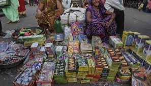 delhi seize 1200 kg of crackers ahead of diwali