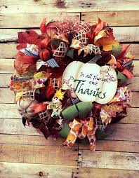 fall wreath fall door wreath fall pumpkin wreath autumn leaves