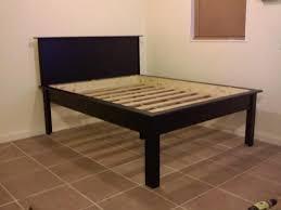 Raised Platform Bed Frame High Platform Bed Frame Bonners Furniture