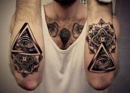 all seeing eye forearm tattoo design photos pictures and