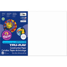 pacon tru ray assorted construction paper 12