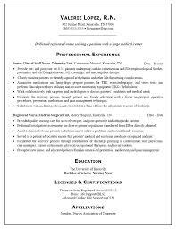 Nurse Resume Builder Resume Graduate Nurse Resume Template Free Entry Level Sample