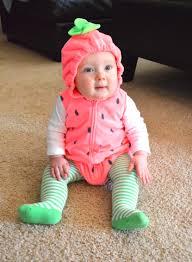 baby strawberry costumes for halloween teagan u0027s first halloween u2013 kristen pederson