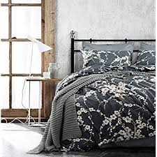 Cherry Duvet Cover Amazon Com Japanese Oriental Style Cherry Red Blossom Floral