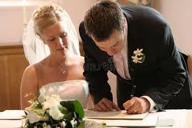 register wedding signing wedding marriage register stock image image of