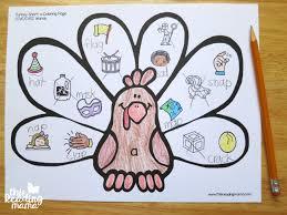 turkey short vowel coloring pages