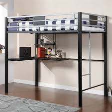 Full Size Metal Loft Bed With Desk by Metal Full Size Loft Bed With Desk Metal Full Size Loft Bed For