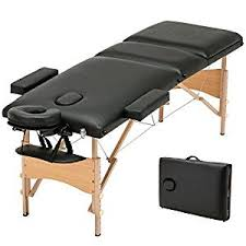 spa beds amazon com msg 3 fold portable massage table facial spa bed