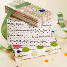personalized gift wrapping paper the 25 best personalised wrapping paper ideas on diy