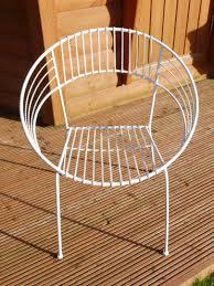 Retro Metal Garden Chairs by Garden Chairs Centurion Stonecenturion Stone