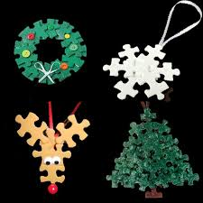 story day 18 puzzle pieces ornament and craft