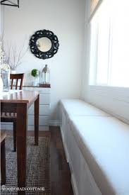 breakfast nook bench cushion the wood grain cottage