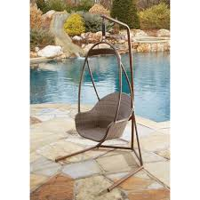 Hanging Chair Outdoor Furniture Outdoor Hanging Chairs U0026 More Backyard U0026 Garden Hayneedle