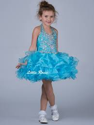 little rosie pageant halter pageant dress sr311 pageantdesigns com