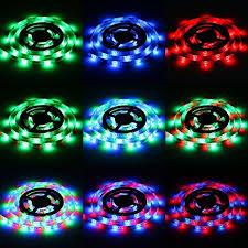 Led Strip Lights Battery Powered Amazon Com Led Light Strips Sunsbell Battery Powered Led