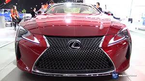 lexus youtube ad 2017 lexus lc500 exterior and interior walkaround debut at