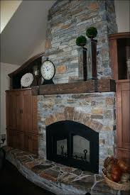 Stacked Stone Outdoor Fireplace - faux stone outdoor fireplace awesome faux stone fireplace garden