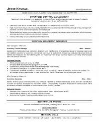 brilliant ideas of material management resume sample with download