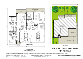 grace 1 dual occupancy double garage floor plan dual occ plans