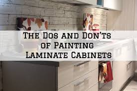 is it possible to paint laminate cabinets the dos don ts of painting laminate cabinets jng