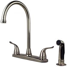 bar sink faucet with sprayer