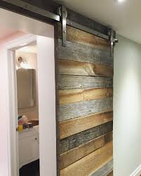 Barn Door Closet Hardware by Barn Board Barn Door On Stainless Steel Barn Door Hardware For