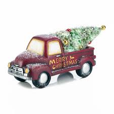 lighted christmas truck decor wholesale at koehler home decor