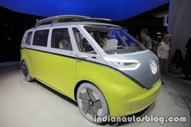 vw i d buzz concept showcased at the iaa 2017 live