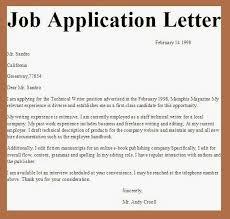 File Info College Professor Application Letter College Employment Application Letter An Application For Employment Job