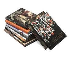 unique decorative books topography home