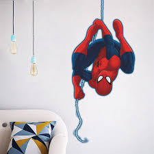 Spiderman Decoration Remarkable Decoration Spiderman Wall Decor Awesome Idea Spiderman