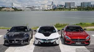 mercedes f series driven web series 2015 7 million ringgit sports cars bmw i8 vs