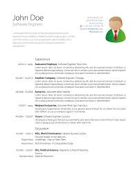 Sample Resume Templates Word Document by Resume Format In Latex Resume For Your Job Application
