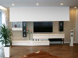 Wohnzimmer Heimkino Deckeneinbauleinwand Nur 11 7 Cm Einbautiefe Herstellung Auch