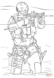 swat police coloring page free printable coloring pages
