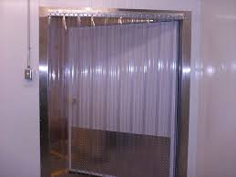 Plastic Sheet Curtains Freezer Strip Curtains Rooms