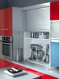 rideau pour placard cuisine meuble cuisine a rideau coulissant rideau placard cuisine cuisine