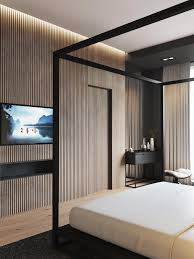 Feature Wall In Master Bedroom 4 Luxury Bedrooms With Unique Wall Details