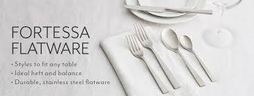 sur la table flatware fortessa fortessa flatware sur la table