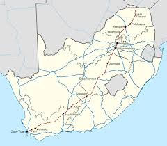 Cape Air Route Map by N1 Road South Africa Wikipedia