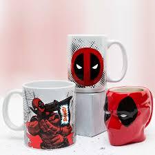 deadpool coffee mug set for sale zak zak designs