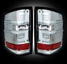 led lights for 2015 silverado recon clear chrome led tail lights for gm silverado 2014 2015