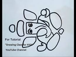 how to draw tutorial for kids lord ganesha youtube